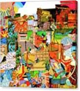 Simultaneous Dimensions #1 Canvas Print