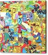 Simultaneous Dimensions #2 Canvas Print