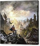 Simurgh Call Of The Dragonlord Canvas Print