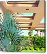 Sinatra Patio Palm Springs Canvas Print