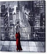 Sincity Canvas Print