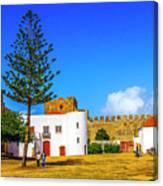Sines Castle Canvas Print