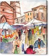 Sineu Market In Majorca 01 Canvas Print