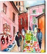 Sineu Market In Majorca 05 Canvas Print