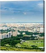 Singapore Cityscape Canvas Print