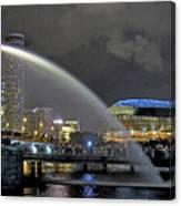 Singapore Merlion Canvas Print