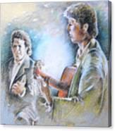 Singer And Guitarist Flamenco Canvas Print