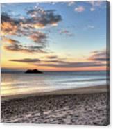 Singing Beach Manchester Ma Sunrise Island Canvas Print