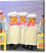 Singing Tenorloins Canvas Print