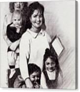 Single Mothers Canvas Print