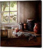 Sink - The Morning Chores Canvas Print