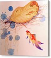 Sink Or Swim Canvas Print