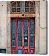 Sintra Door Canvas Print