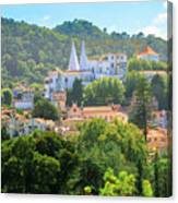 Sintra National Palace Aerial Canvas Print