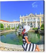 Sintra Travel Woman Canvas Print
