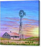 Sioux County Sunrise Canvas Print