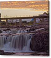 Sioux Falls Sunset Canvas Print
