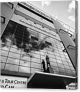 sir alex ferguson stand Manchester united old trafford stadium uk Canvas Print