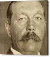 Sir Arthur Conan Doyle, 1859 -1930 Canvas Print