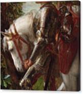 Sir Galahad Canvas Print
