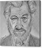 Sir Ian Machellen Canvas Print