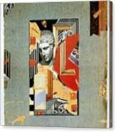 Sir John Soane's Museum - London Underground, London Metro - Retro Travel Poster - Vintage Poster Canvas Print