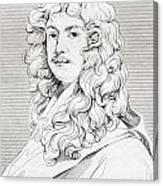 Sir Peter Lely, 1618 Canvas Print