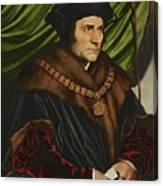 Sir Thomas More Canvas Print