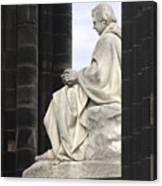 Sir Walter Scott Statue Canvas Print
