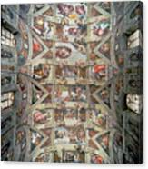 Sistine Chapel Ceiling Canvas Print