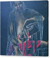 Sitting Figure Canvas Print