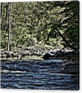Six Mile Creek Ithaca Ny Canvas Print