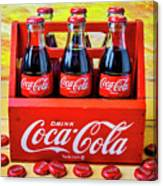 Six Pack Of Cokes Canvas Print