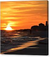 Sizzling Sunset Canvas Print