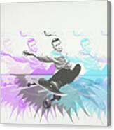 Sk8 Jd Canvas Print