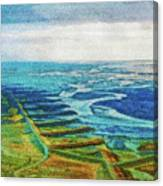 Skaftafell Floodplain Canvas Print