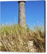 Skagen Denmark - Lighthouse Grey Tower Canvas Print