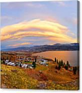 Skaha Sunset Canvas Print
