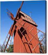 Skansen Windmill Canvas Print
