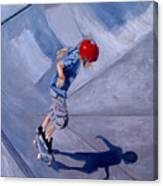 Skateboarding Canvas Print