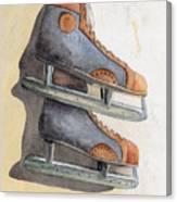 Skates Canvas Print