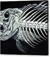 Skeletail Canvas Print