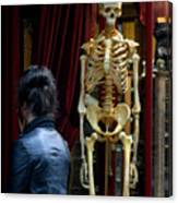 Skeleton Staff Canvas Print