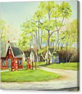 Skelly Gas Station Canvas Print