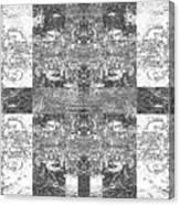 Skentch Canvas Print