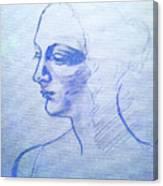Sketch Canvas Print