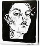 Sketchbook Scribbles Canvas Print