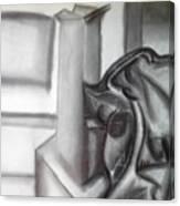 Sketchy Canvas Print