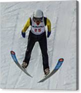 Ski Jumper 3 Canvas Print