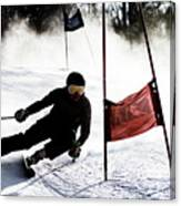 Ski Racer 2 Canvas Print